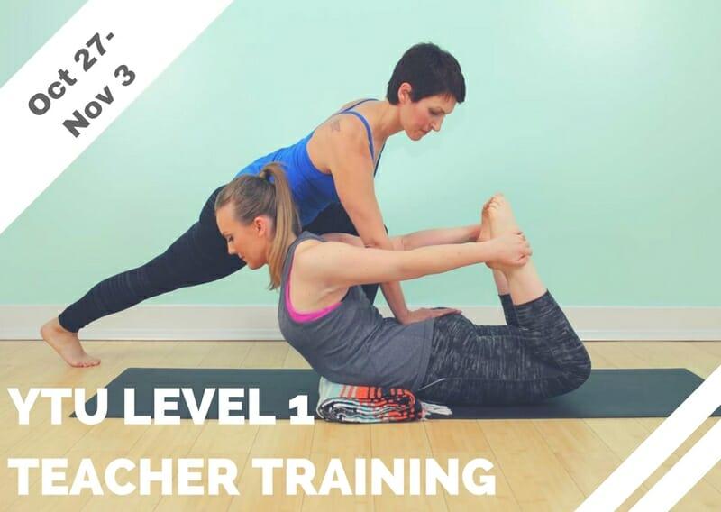 Oct 27 – Nov 3 – YTU Level 1 Teacher Training (LA)