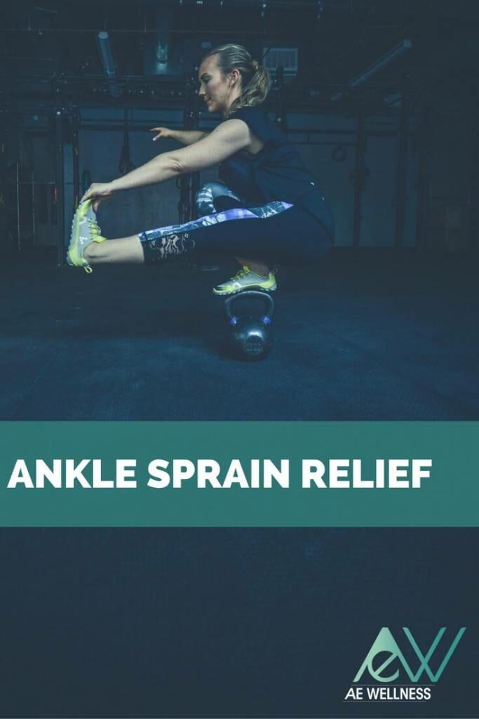 Ankle Sprain Relief AE Wellness