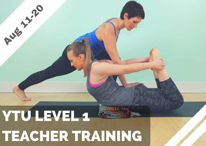 Aug 11-20 – YTU Level 1 Teacher Training (Costa Mesa, CA)