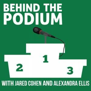 Behind the Podium Podcast with Jared Cohen and Alexandra Ellis