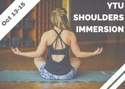Oct 13-15 – YTU Shoulders Immersion (San Juan Capistrano, CA)