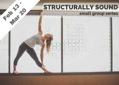 Feb 13 – Mar 20 – Structurally Sound Small Group Series (Burbank, CA)
