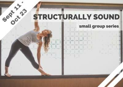 Sep 11 – Oct 23 – Structurally Sound Small Group Series (Burbank, CA)