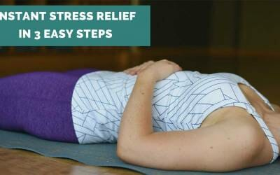 Instant Stress Relief in 3 Easy Steps