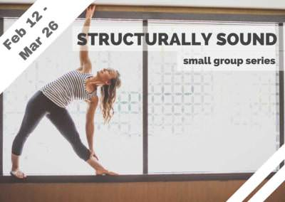 Feb 12 – Mar 26 – Structurally Sound Small Group Series (Glendale, CA)
