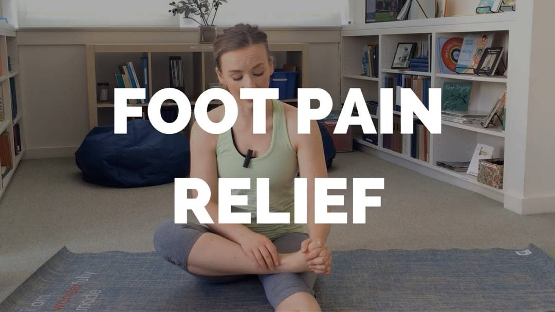 Hand to Foot Toe Stretch