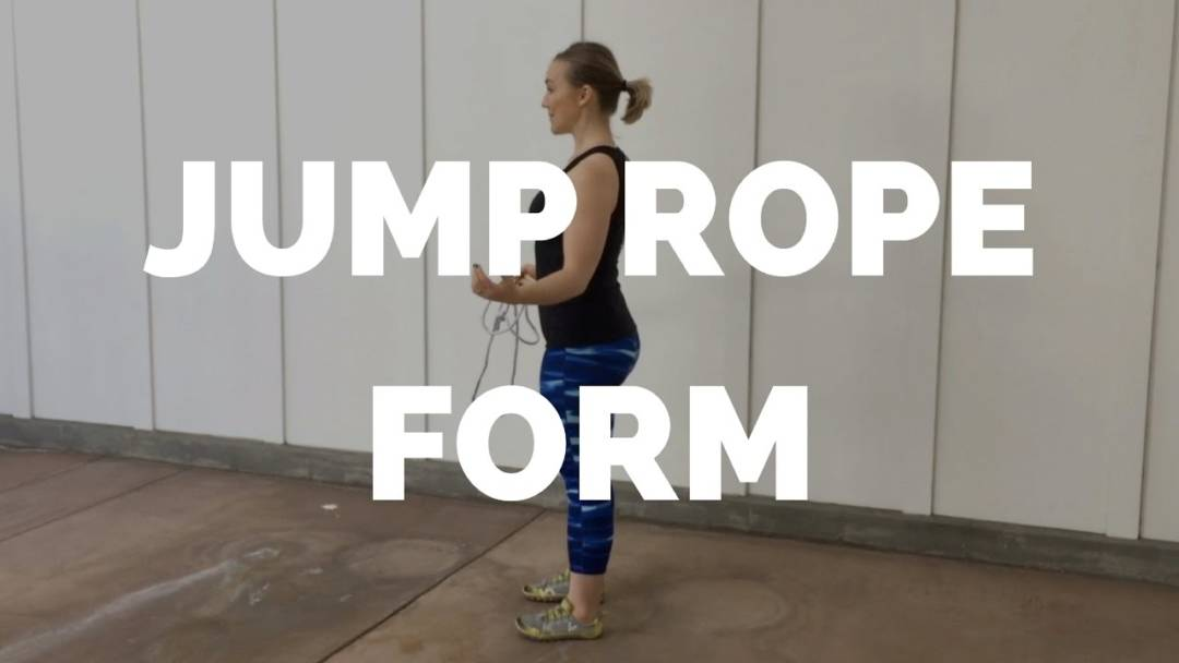 How to Jump Rope with Good Form