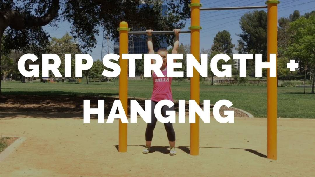 Improve Grip Strength with Hanging