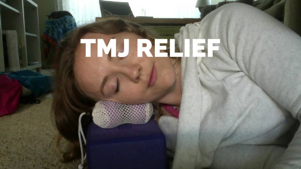 Jaw and TMJ Relief with Yoga Tune Up Therapy Balls
