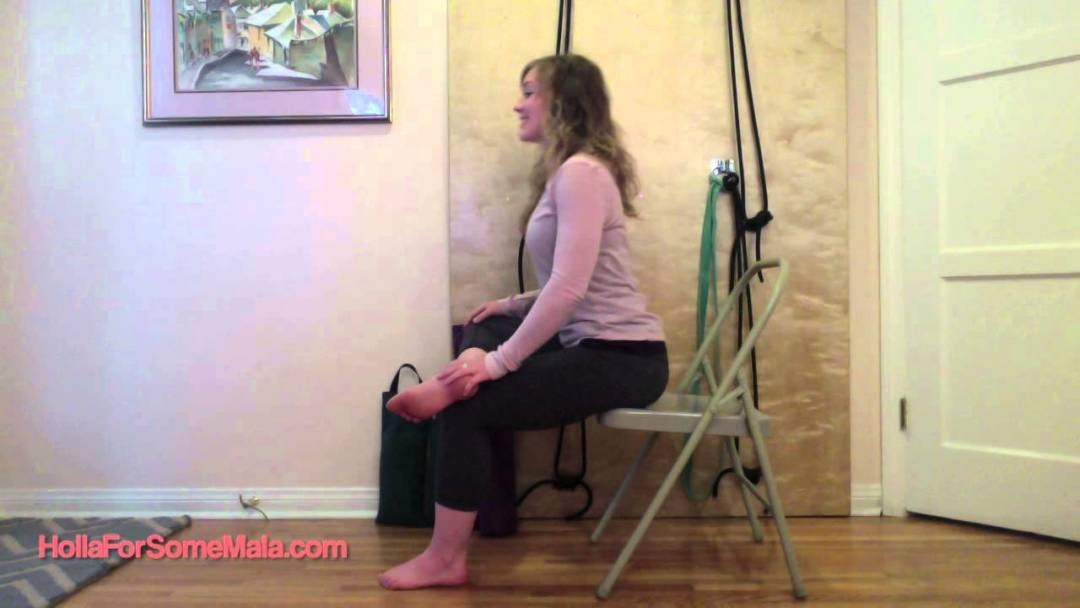 Seated Hip Stretch for Glutes and Low Back