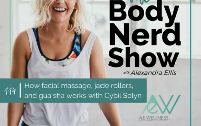 114 How facial massage, jade rollers, and gua sha works with Cybil Solyn